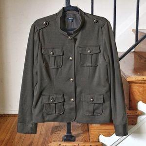 Apt 9 Army green jacket